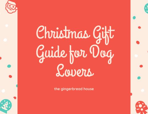 Christmas gift guide for dog lovers 2020