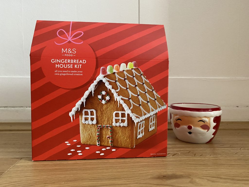 M&S gingerbread house kit
