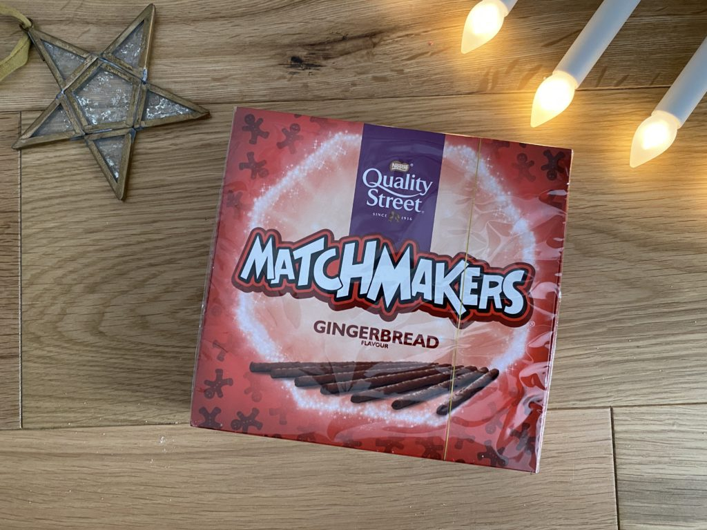 Quality Street Matchmakers Gingerbread flavour