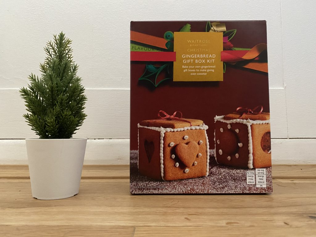 Waitrose Gingerbread Box Kit