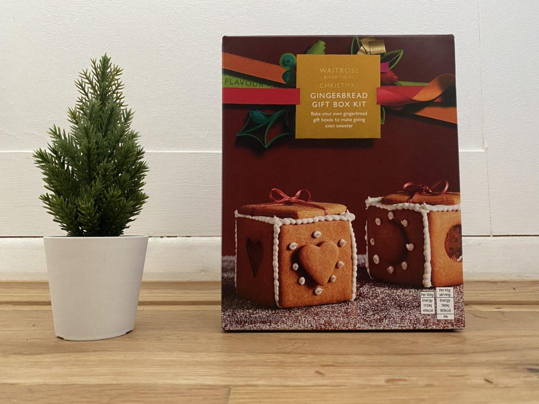 Waitrose Gingerbread Box Kit