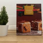 An edible decoration - a gingerbread box