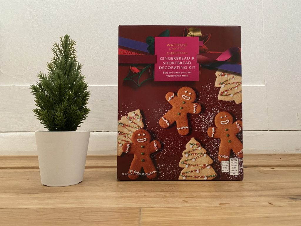 Waitrose Gingerbread & Shortbread Decorating Kit