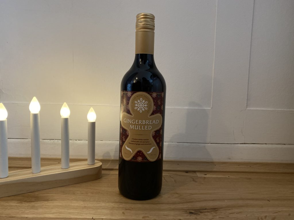 Aldi Gingerbread mulled wine