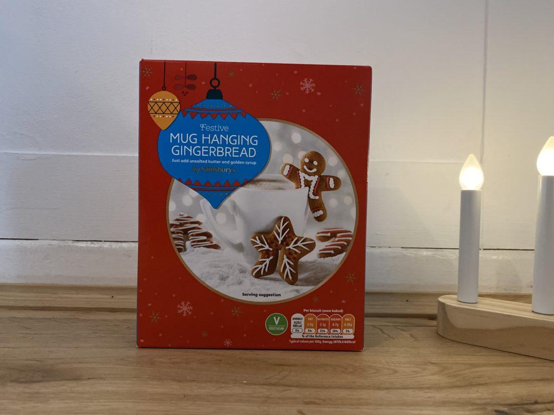 Sainsbury's Festive Mug Hanging Gingerbread kit
