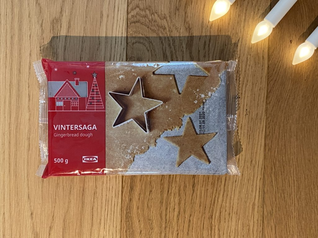 Ikea Vintersaga Gingerbread dough