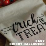 Easy Cricut Trick or Treat bags