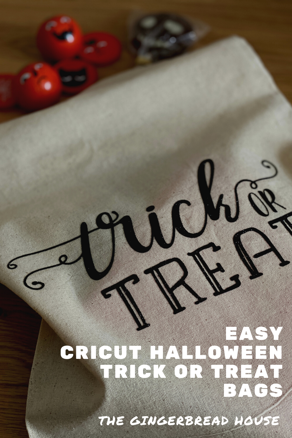 Easy Cricut Trick or Treat bags