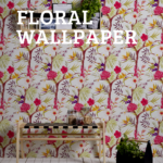 Floral wallpaper {wallpaper with flowers for a vivid ambience}