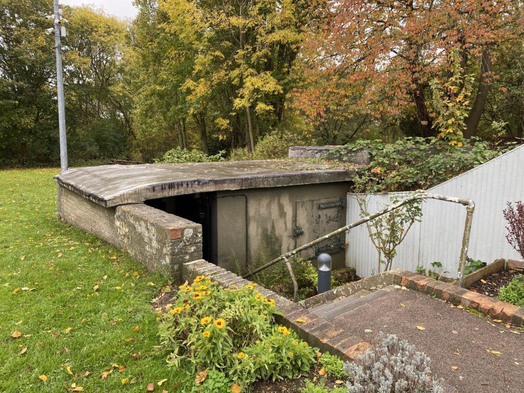 entrance to Battle of Britain Bunker
