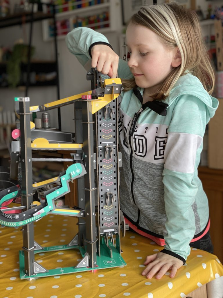 Build Your Own Marble Run {review}