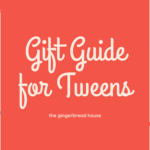 AD/Christmas gift guide for tweens 2020