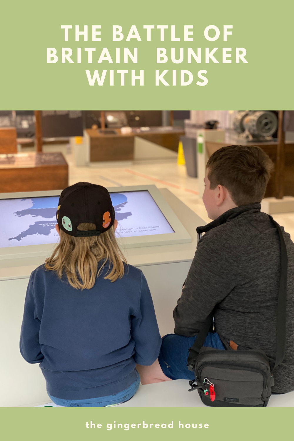 Visiting the Battle of Britain Bunker with kids