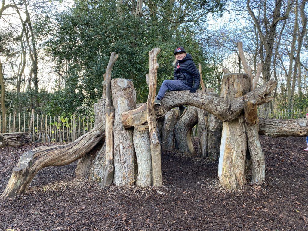 adventure playground at Hughenden Manor