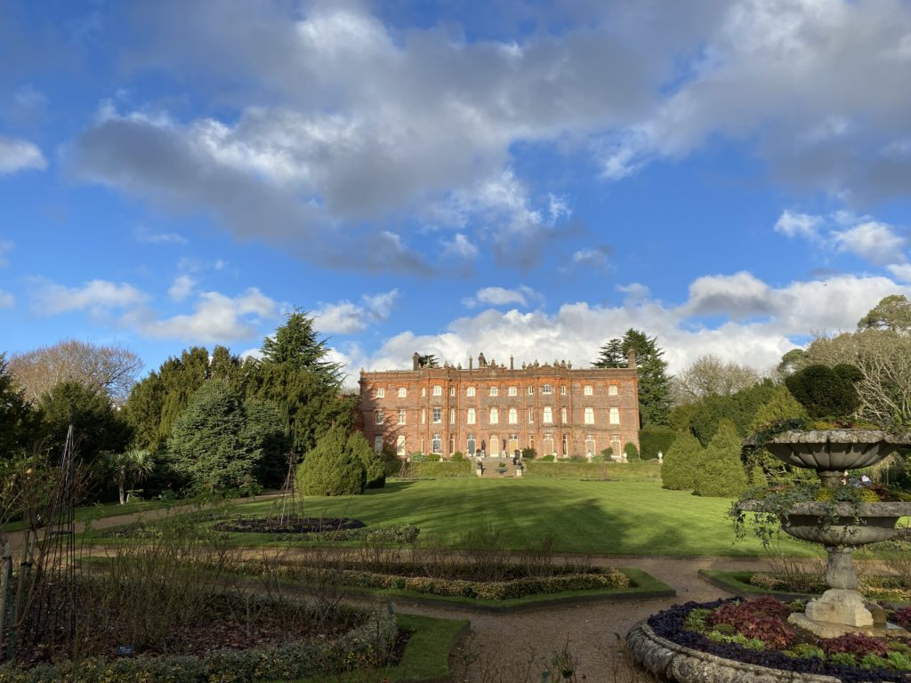 Hughenden Manor in winter