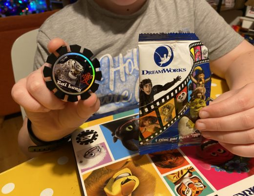Collectible Dreamworks AR Discs