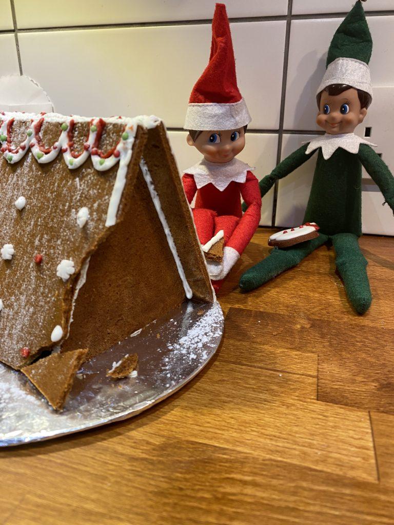Christmas gingerbread house kitfrom Waitrose