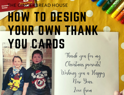 How to design your own Thank You cards