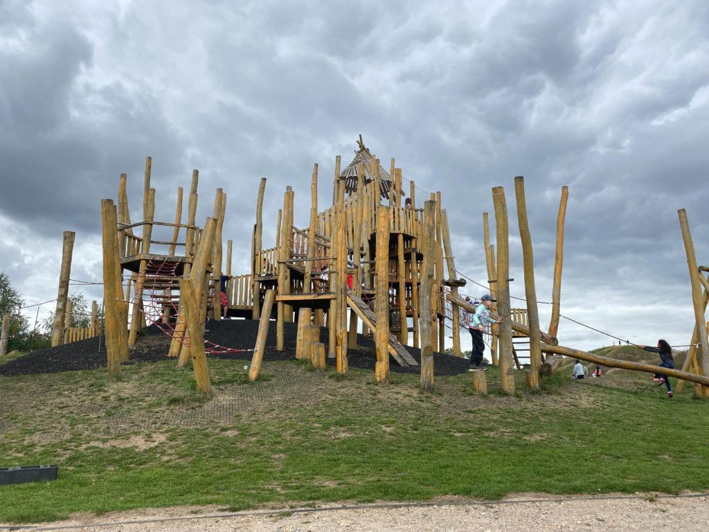 adventure playground at Northala Fields