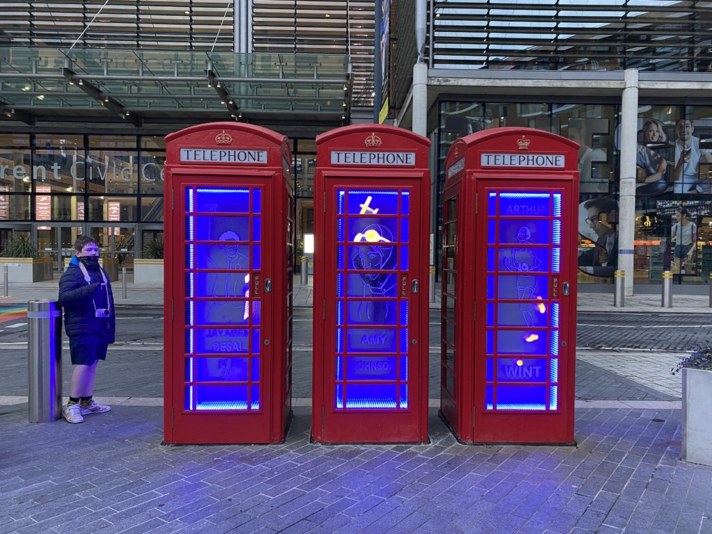 telephone box installation