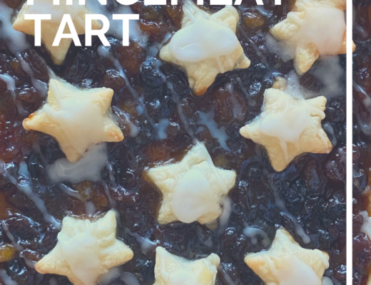 Puff pastry mincemeat tart recipe