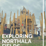 Exploring Northala Fields with kids