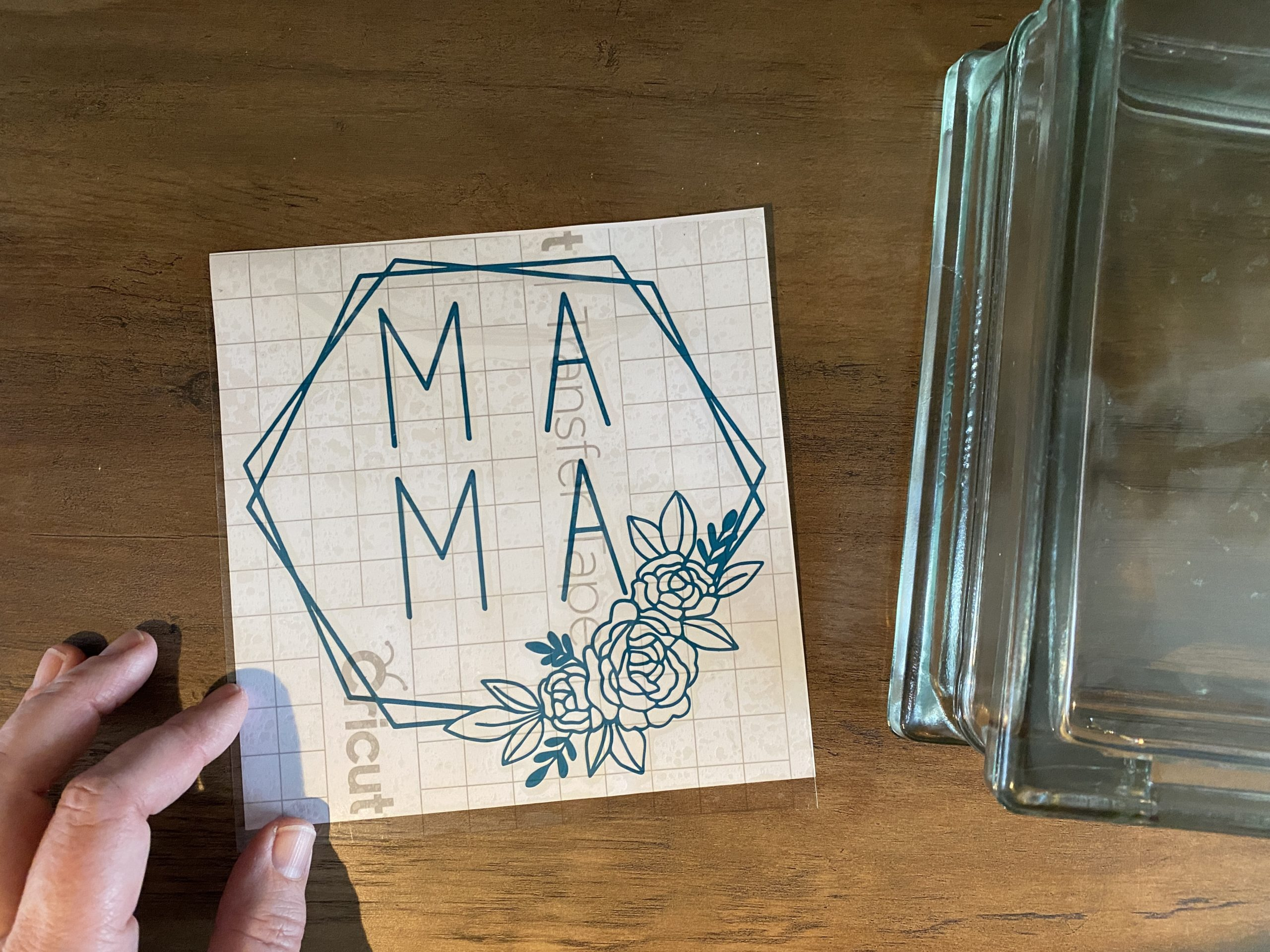 Cricut Mothers Day craft