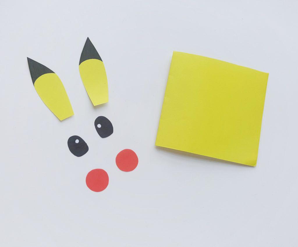 easy Pokemon paper craft for kids