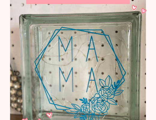 Cricut DIY Mother's Day gift idea