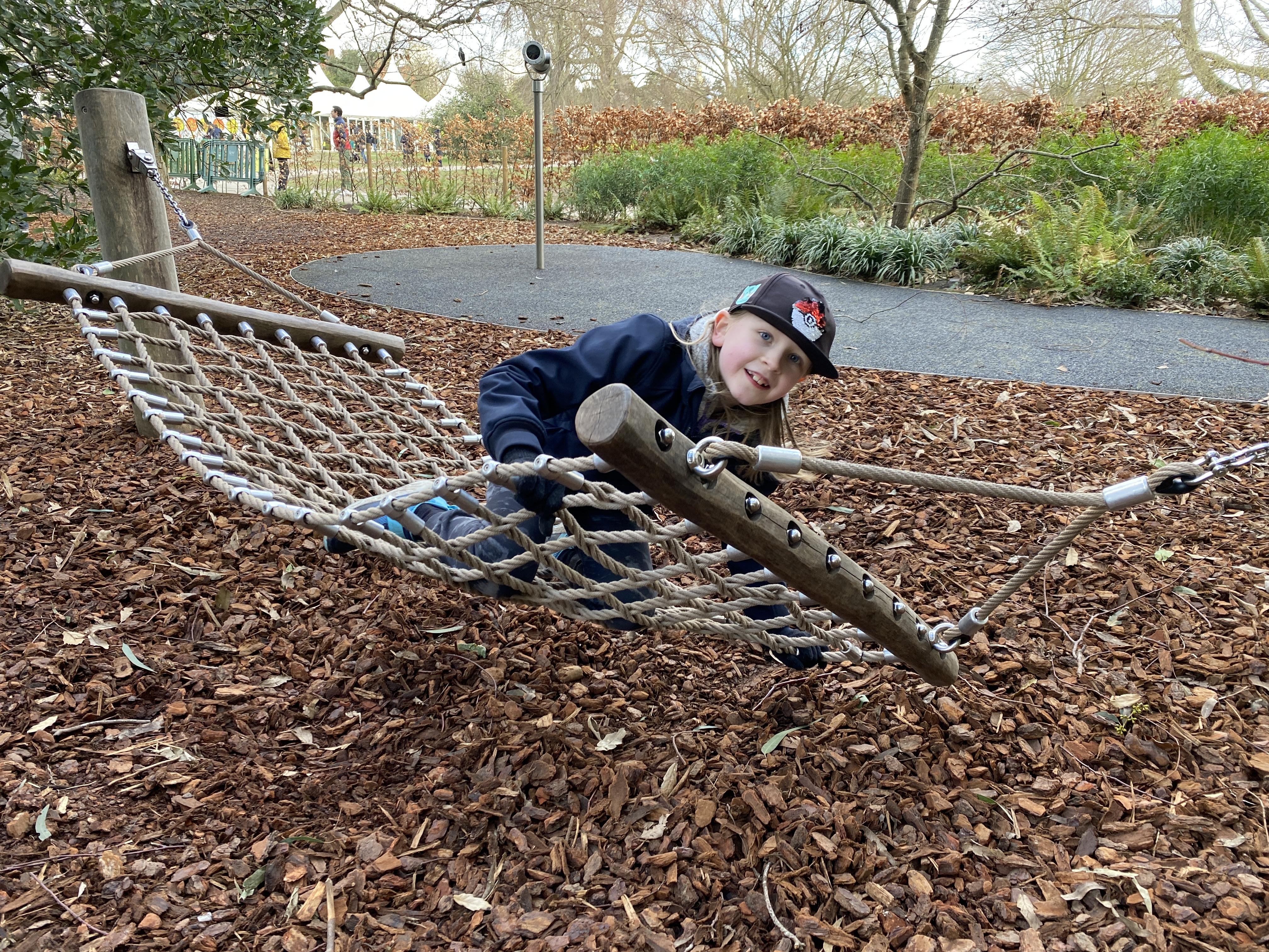 Children's playground at Kew