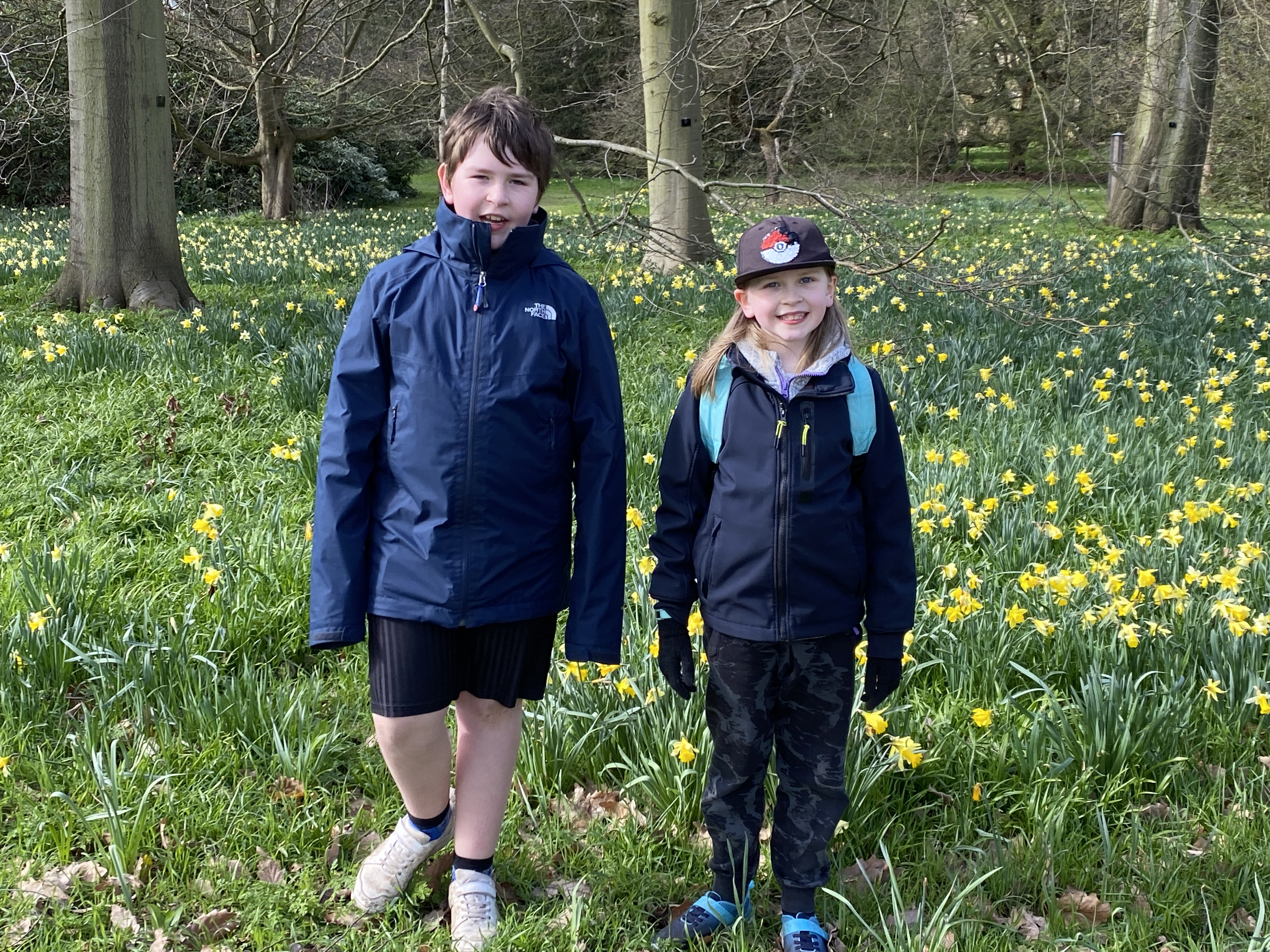 Kew Gardens in Spring with kids