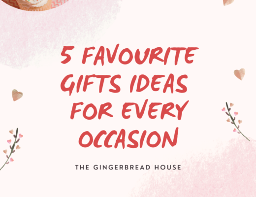 5 favourite gifts ideas for every occasion