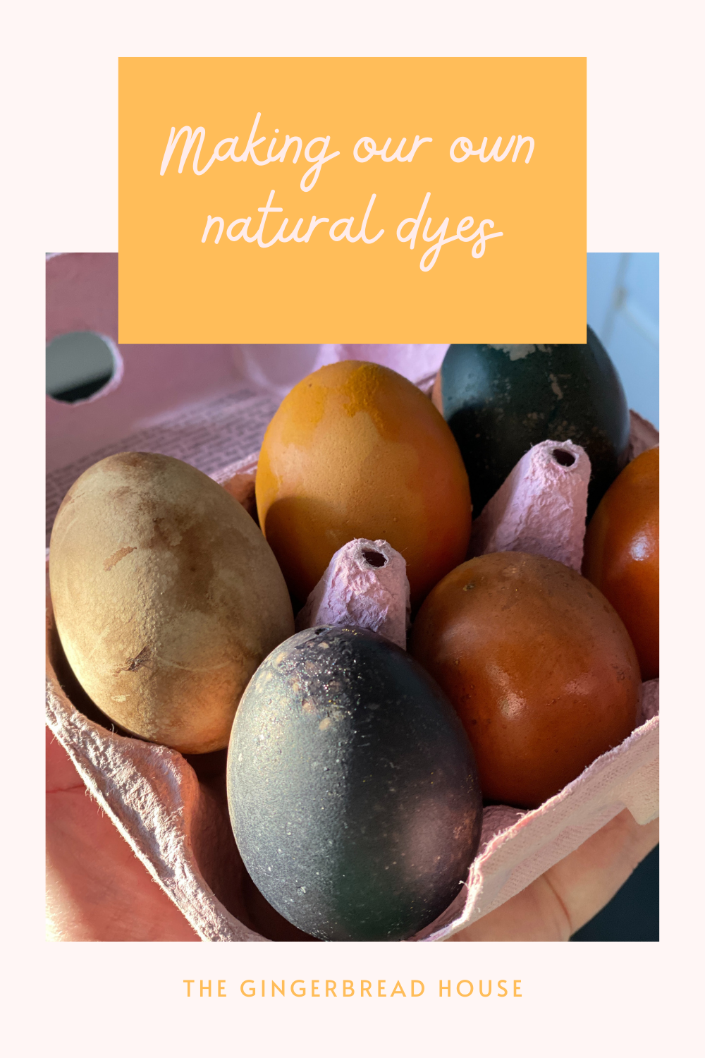 Making our own natural dyes
