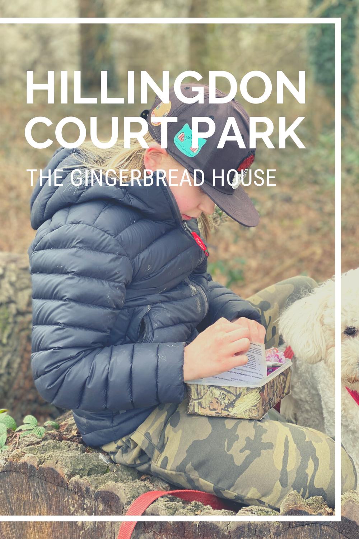 Exploring Hillingdon Court Park with kids