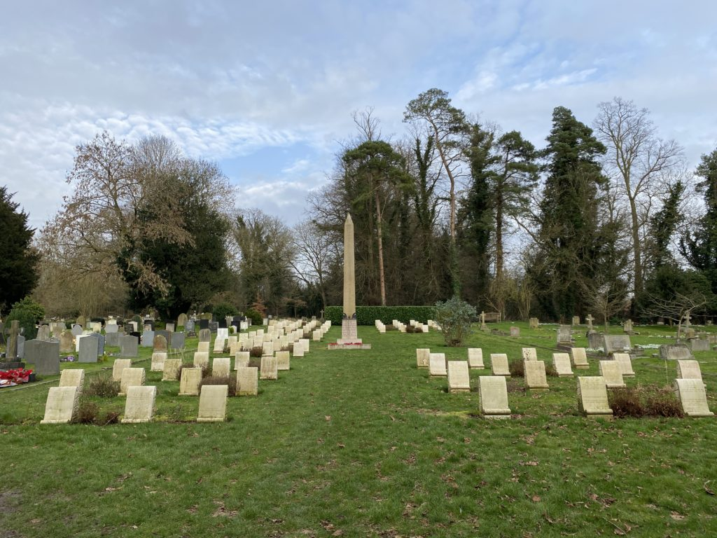 Harefield Commonwealth War Graves