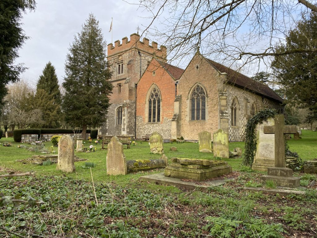 Harefield Church and Commonwealth War Graves
