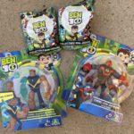 Ben 10 action figures giveaway