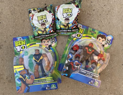 Ben 10 action figures giveaway