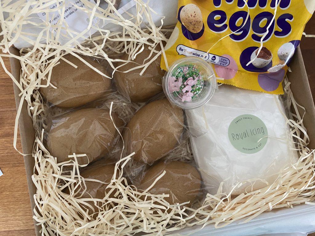 Gingerbread easter eggs
