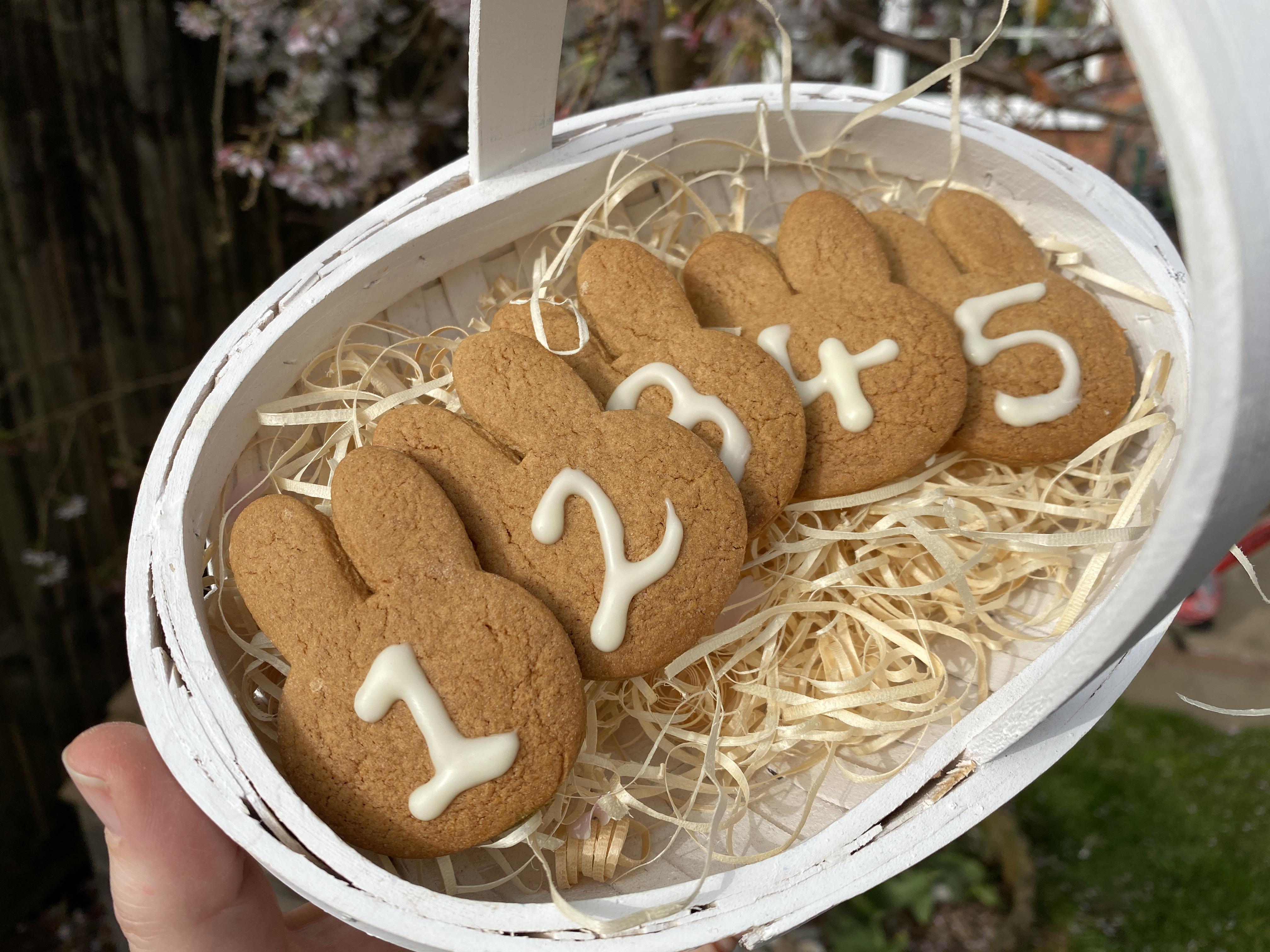 Gingerbread Easter Egg Hunt