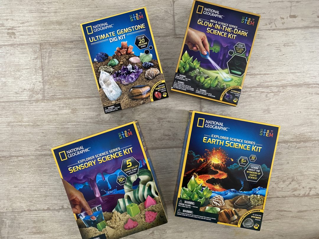 Celebrating Earth Day with National Geographic Science kits
