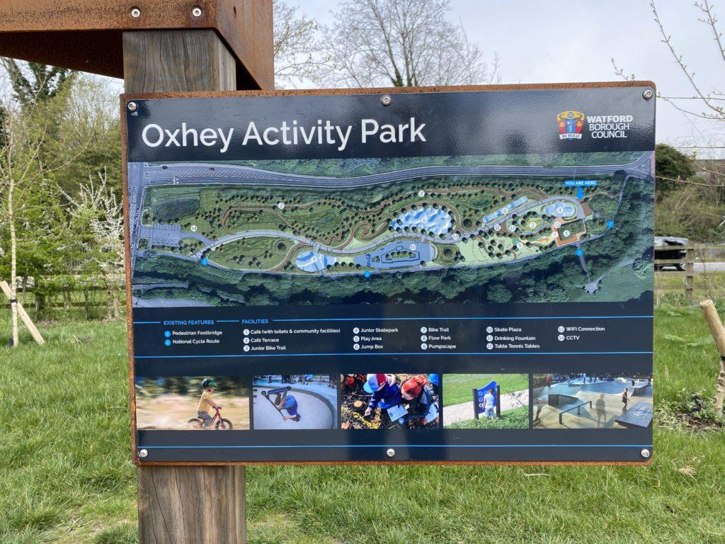 exploring Oxhey Activity Park