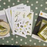 Spring stitching {Spring Craftpod review}