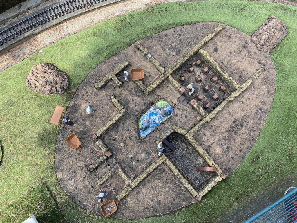 mini archaeological dig