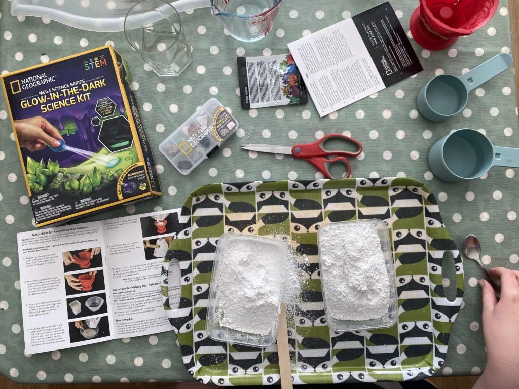 Glow In The Dark Mega Science Kit