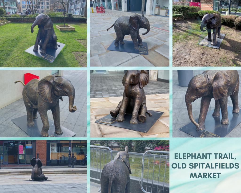 Elephant trail at Old Spitalfields Market