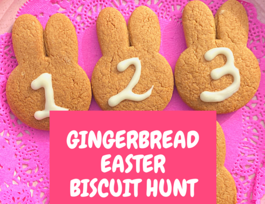 Our Gingerbread Easter Biscuit Hunt