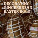 Gingerbread easter eggs