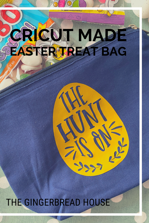 Cricut made Easter treat bags