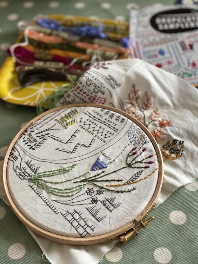 Original Dropcloth Embroidery Sampler